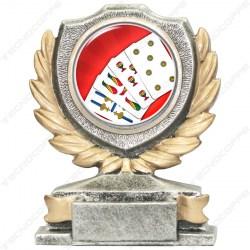 1/° 2/° e 3/° Classificato tecnocoppe Tris Trofei Premiazioni h 13,00 cm Targhetta personalizzata compresa nel prezzo